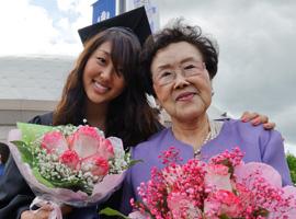 Grad and Mom