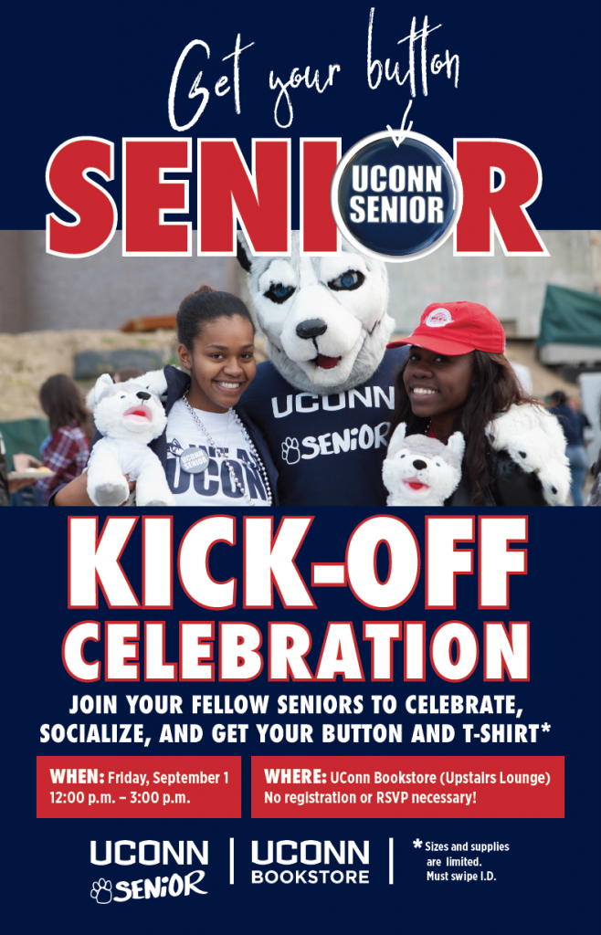 Senior Kick-Off Event Flyer